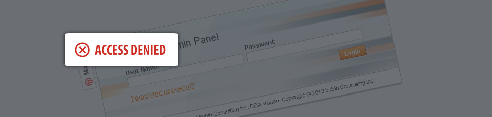 Secure your Magento Admin