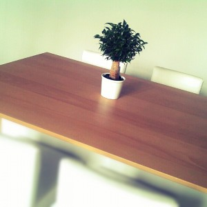 The meeting space